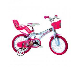 """Dečiji bicikl Dino Minnie 14"""""""