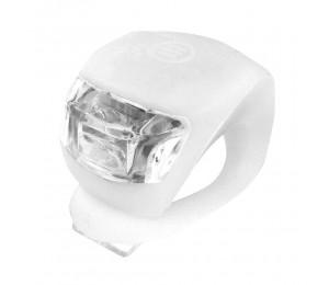 Prednja 2 LED bljeskalica Xplorer bijela