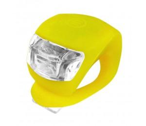 Zadnja 2 LED bljeskalica Xplorer žuta