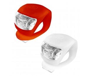 Set Xplorer prednja + zadnja 2 LED bljeskalica