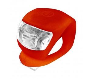 Zadnja 2 LED bljeskalica Xplorer crvena