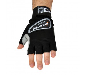 Fitnes rukavice Xplorer print